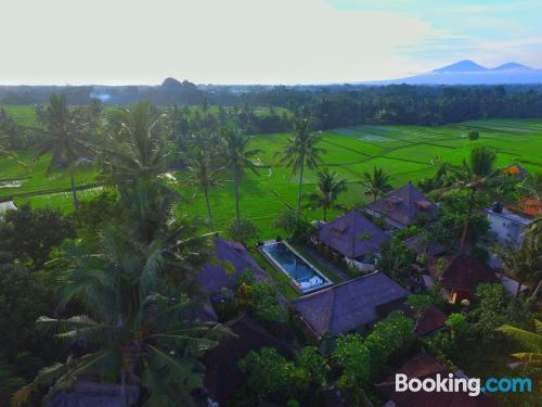 Stay cool: air-con apartment in Ubud with swimming pool