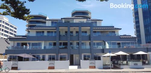 Huge apartment with three rooms. Enjoy your terrace