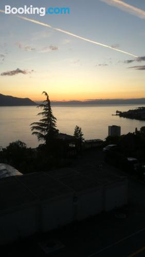 Great 1 bedroom apartment in Montreux.