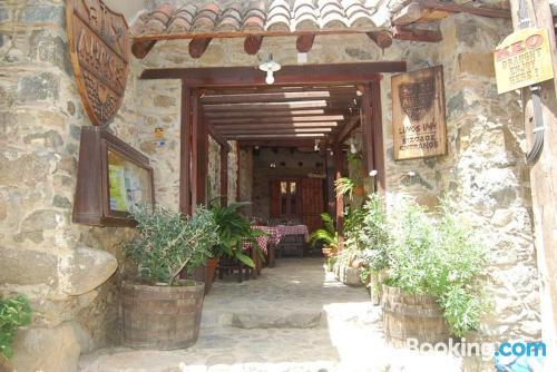 In Kakopetria with terrace and wifi