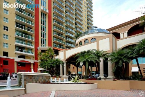 1 bedroom apartment in Sunny Isles Beach with pool and terrace