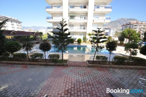 Apartment for six or more in Alanya.