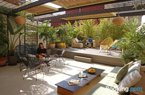 Stay cool: air place in Barcelona in superb location