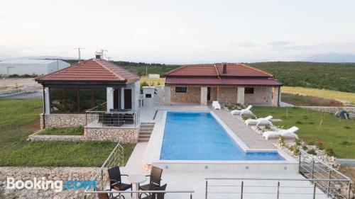 1 bedroom apartment in Čitluk with pool and terrace