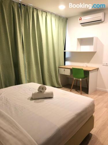 Cómodo apartamento de tres dormitorios en Petaling Jaya