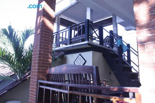 Apartment with terrace ideal for two