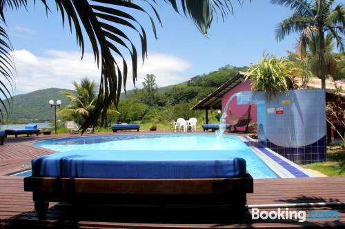 Place for 2 people in Florianópolis. Air!