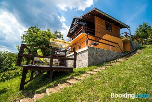 Home in Brežice with air-con