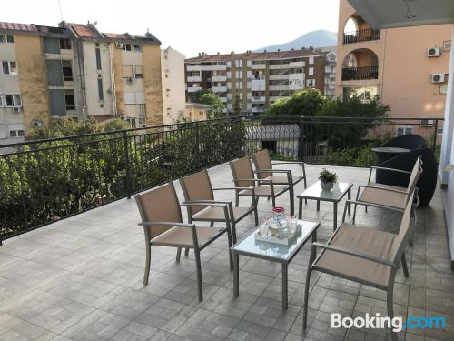 Apartment in Budva with terrace