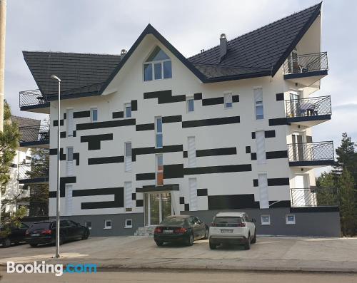 Apartamento con vistas con wifi.