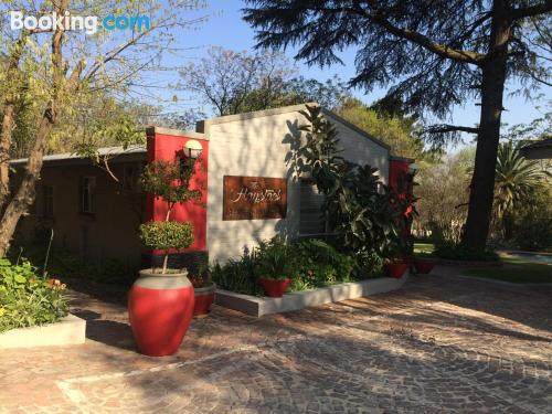 Apartment for two in Johannesburg. Be cool, there\s air-con!