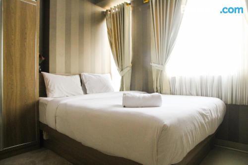 Apartment in Bekasi. Sleeps two people.
