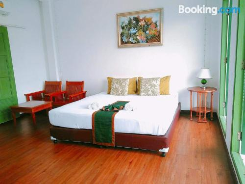 Place for 2 people in Krabi town with wifi and terrace