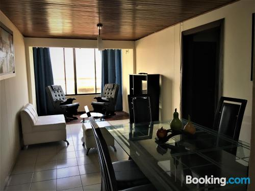 Place for 2 in Barranquilla. Air!.