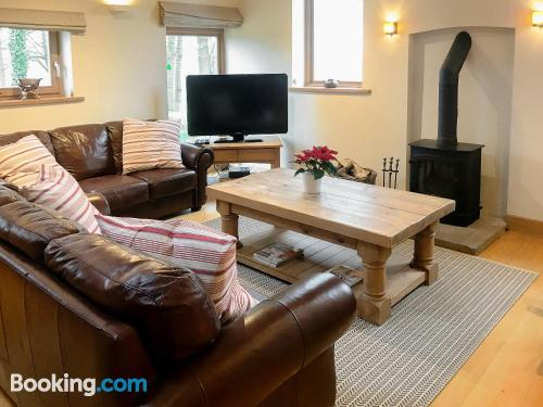 Place in Whitegate with heat and internet