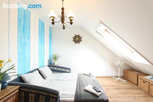 Apartamento con terraza y conexión a internet en Balatonkenese. Apto para niños