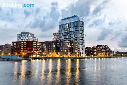 Apartamento de 200m2 en Copenhague con vistas y conexión a internet