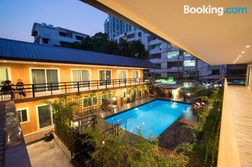 Place in Bangkok with swimming pool
