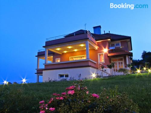 Place with terrace. Ideal for two people!.