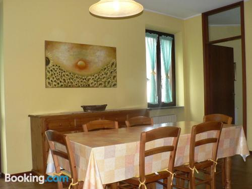 Apartment with two rooms in Malesco.