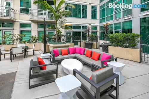 Great location and terrace in San Diego. 46m2.