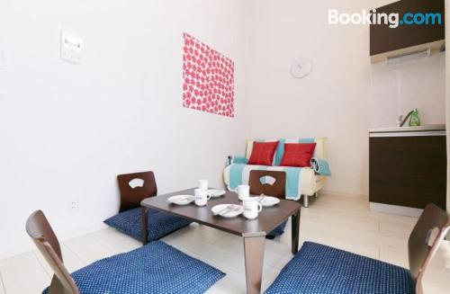 One bedroom apartment convenient for 6 or more.