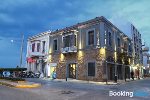 Apartamento con terraza en Chios