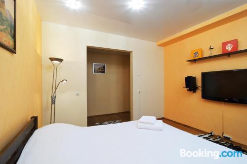 Apartamento en miniatura con conexión a internet