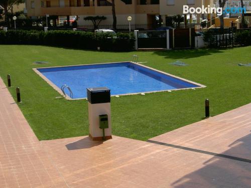 Apartamento con piscina en Roses