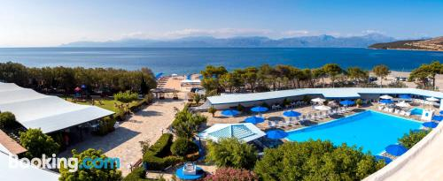 Place in Eratini with swimming pool.