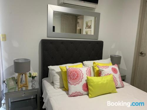 Espacioso apartamento de dos dormitorios en Valledupar.