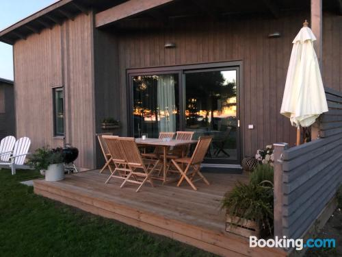 Apartment in Visby with terrace and internet.