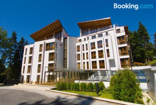 Cot available place. Borovets superb location!
