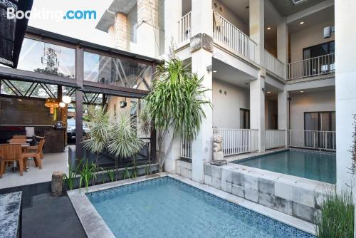 Apartamento con piscina perfecto dos personas