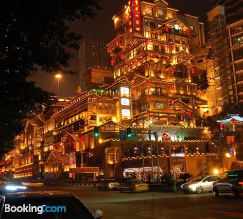 Stay cool: air home in Chongqing. Convenient for two people!