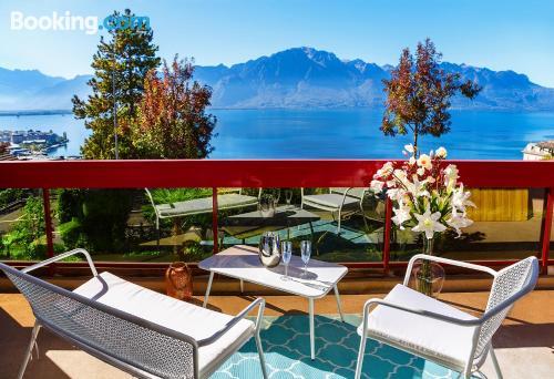 1 bedroom apartment in Montreux. 35m2!