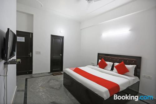 Place in Noida with air-con.