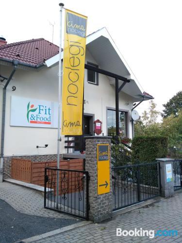 Tiny apartment in Opole. Good choice!