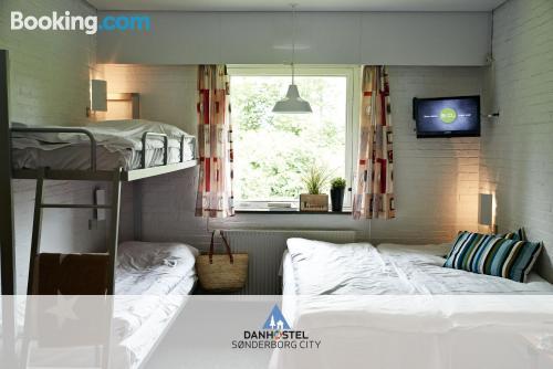 Apartamento con terraza y internet