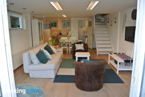 Two bedrooms place in Zwanenburgin best location.