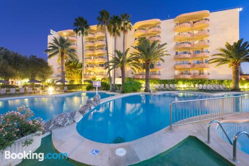 Place for 2 people in Port d'Alcudia with terrace