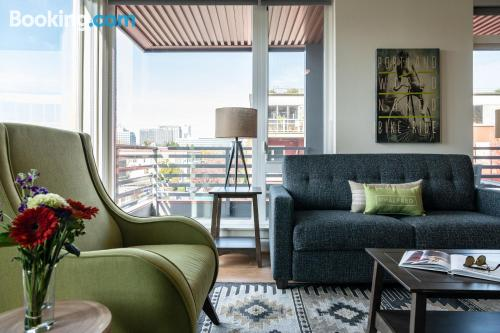 One bedroom apartment apartment in Portland with wifi.