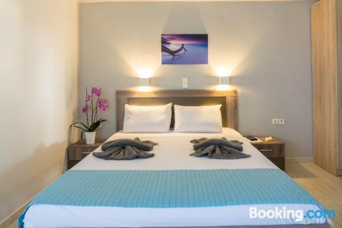 Apartamento para dos personas en Rethymno con terraza