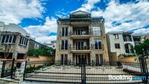 Spacious home in Budva. Enjoy your terrace