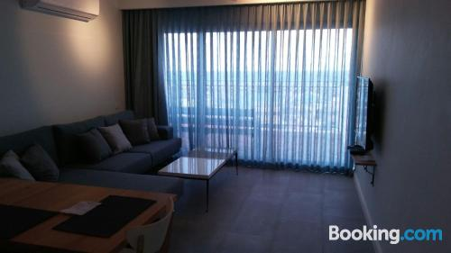 Stay cool: air home in Ashkelon for two people