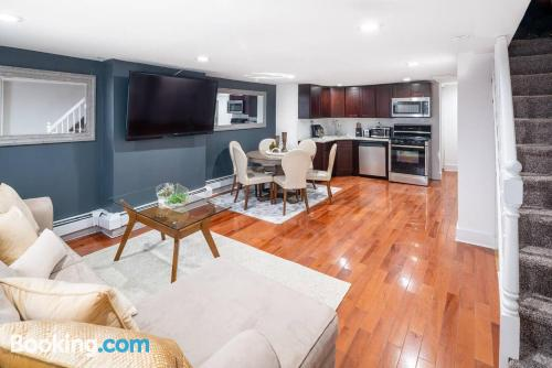Apartment for groups in Jersey City.