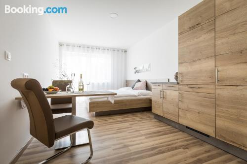 Apartamento perfecto con calefacción y wifi.
