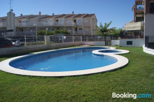 Comfy home in Alcossebre with pool