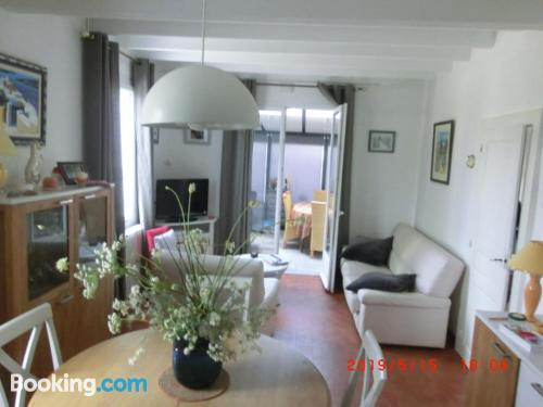 2 rooms home. Hauteville-sur-Mer from your window!.