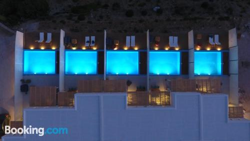 1 bedroom apartment with terrace and swimming pool.